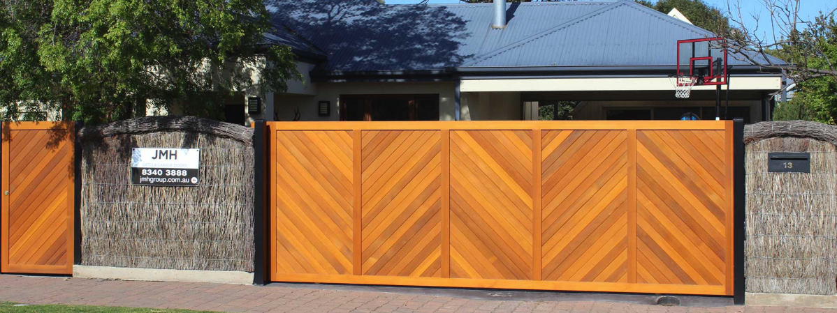 Wooden Gates Adelaide - Timber & Other Wooden Front Gates