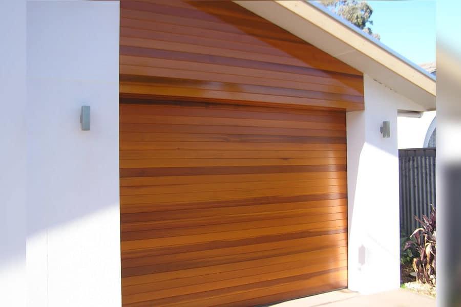 Adelaide Garage Door Design And, Western Red Cedar Garage Door
